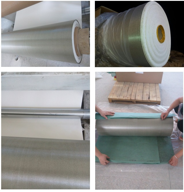 mica roll packing