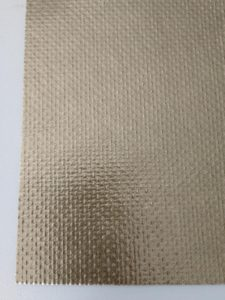 Mica Sheet with steel woven