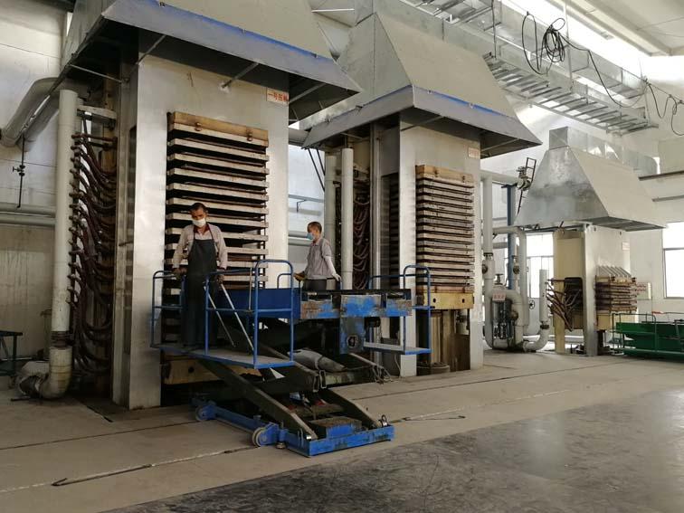 mica sheet heating press machine