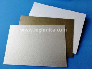 rigid mica plate