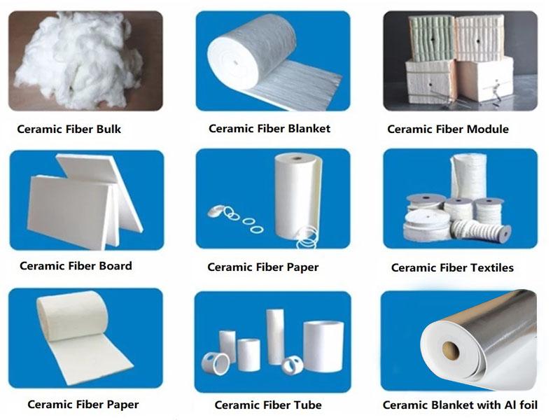 ceramic fiber bulk application